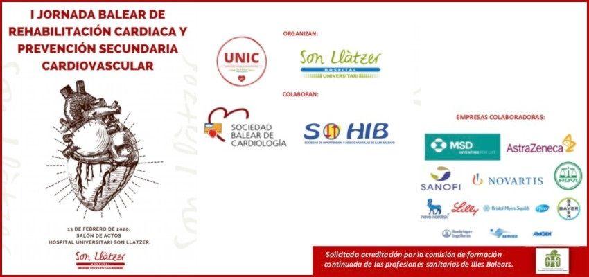 I Jornada Balear de Rehabilitación Cardiaca y prevención secundaria cardiovascular
