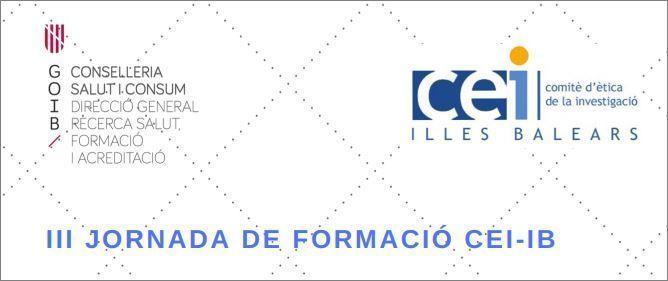 III Jornada de Formació CEI-IB